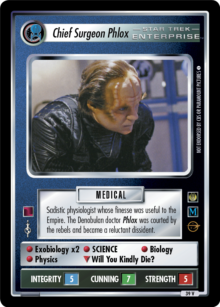 Chief Surgeon Phlox