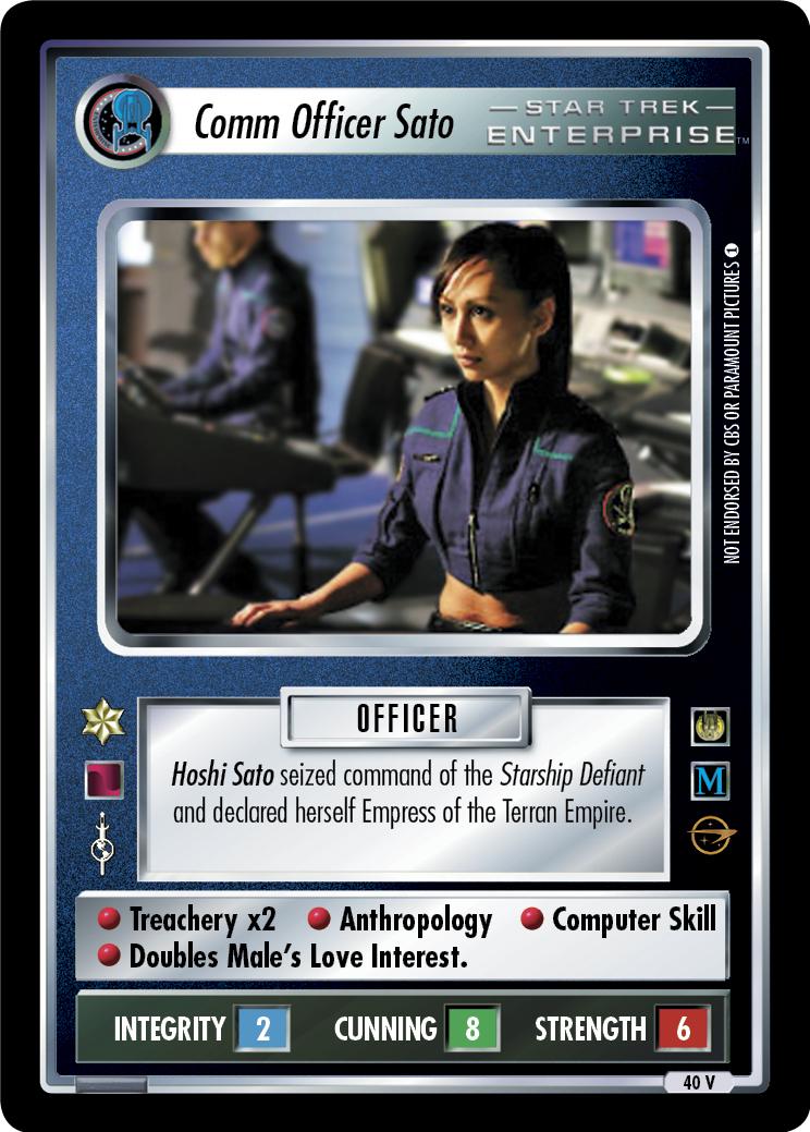 Comm Officer Sato