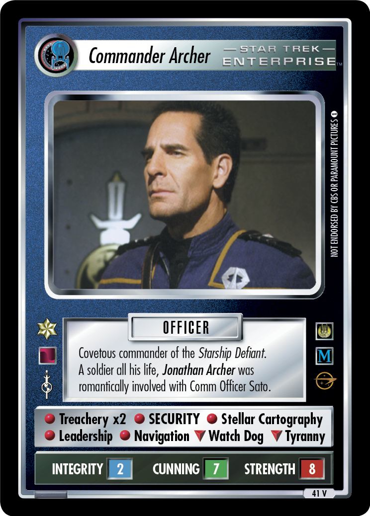 Commander Archer