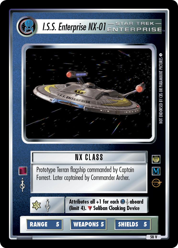 I.S.S. Enterprise NX-01