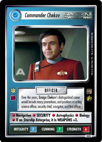 Commander Chekov
