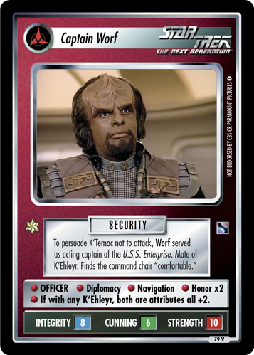 Captain Worf