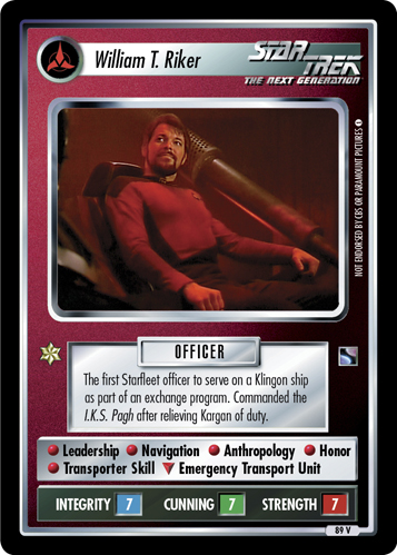 William T. Riker (The Next Generation)