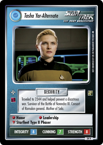 Tasha Yar - Alternate