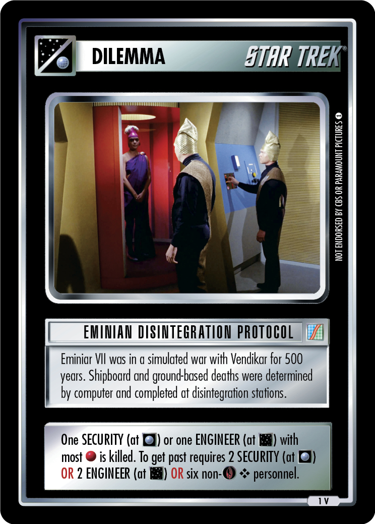 Eminian Disintegration Protocol