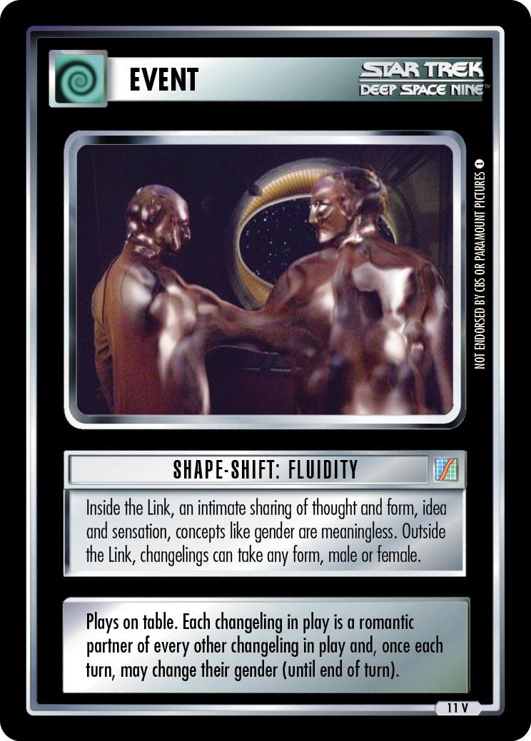 Shapeshift: Fluidity