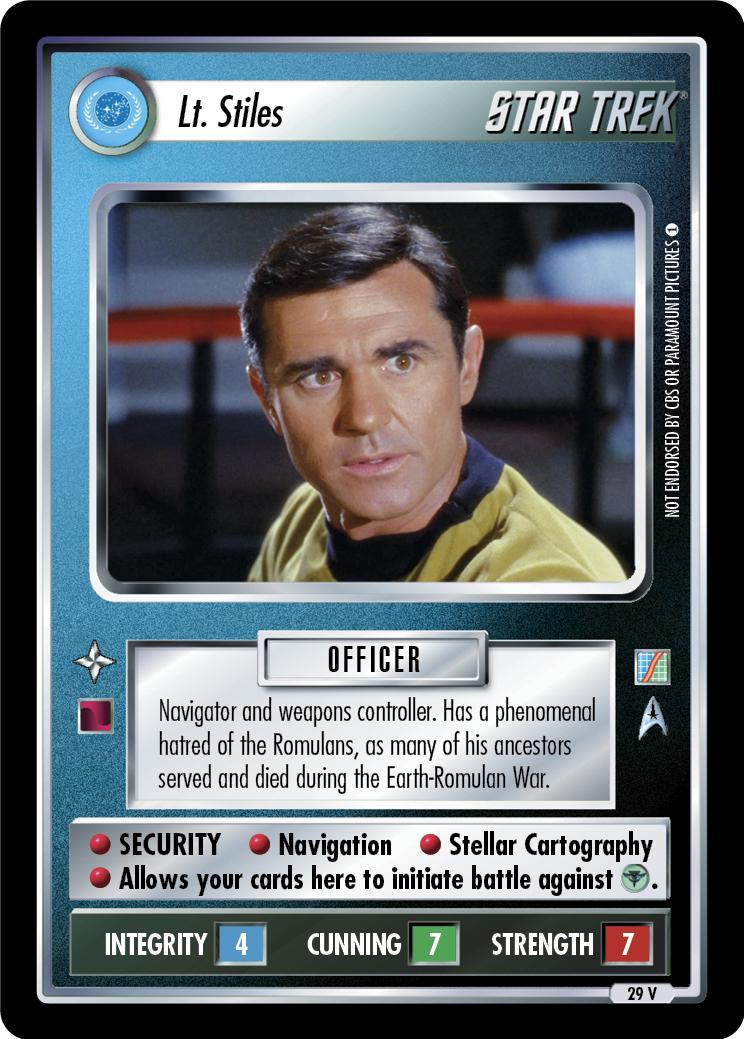 Lt. Stiles
