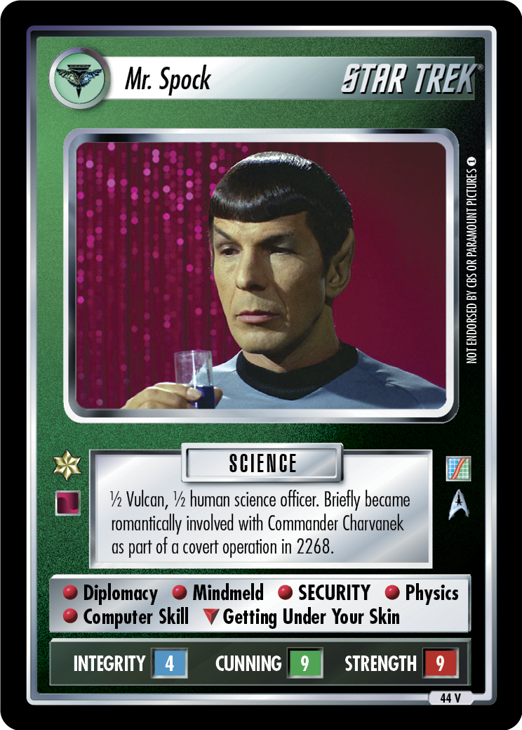 Mr. Spock (The Neutral Zone)