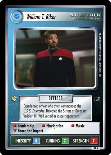 William T. Riker (The Sky's the Limit)