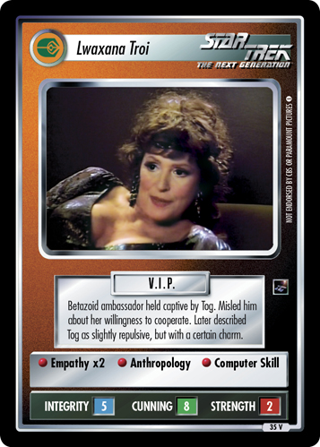 Lwaxana Troi (The Sky's the Limit)
