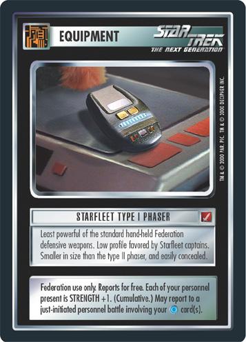 Starfleet Type I Phaser