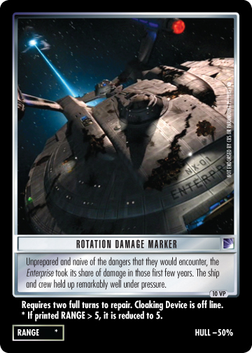 Rotation Damage Marker (Enterprise)