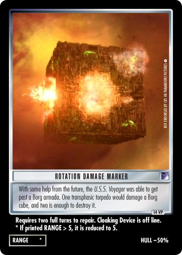 Rotation Damage Marker (Voyager)