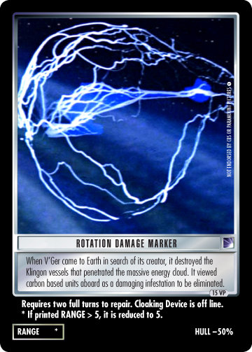 Rotation Damage Marker (The Motion Picture)