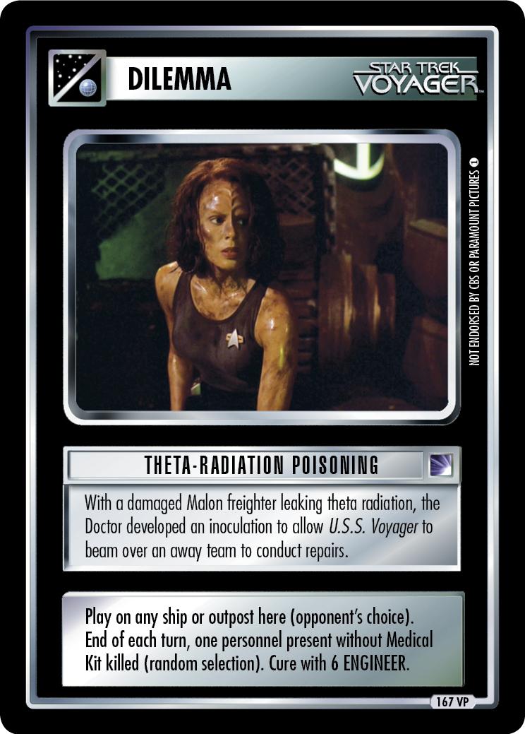 Theta-Radiation Poisoning