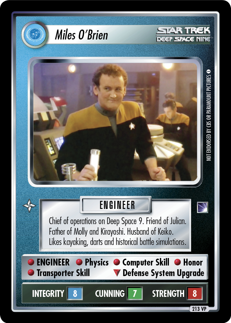 Miles O'Brien (Blaze of Glory)