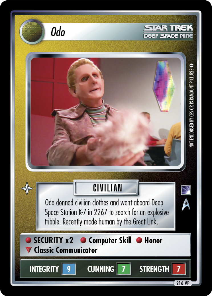 Odo (The Trouble with Tribbles)