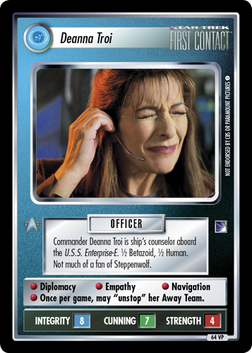 Deanna Troi (First Contact)