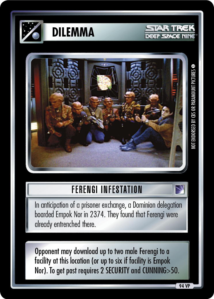 Ferengi Infestation