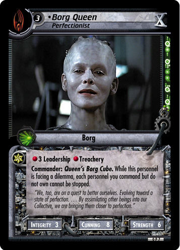 Borg Queen (Perfectionist)