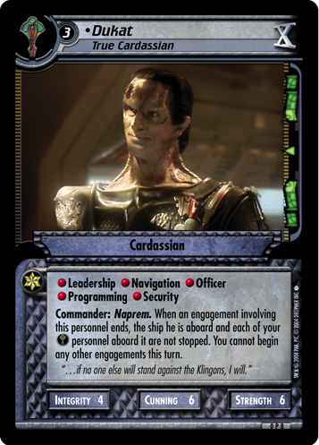 Dukat (True Cardassian)