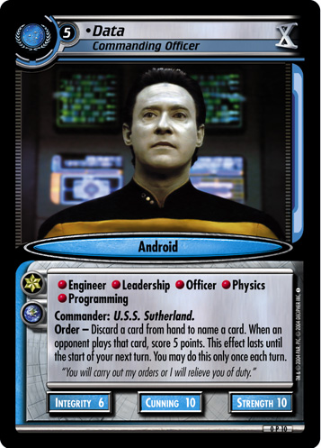 Data (Commanding Officer)