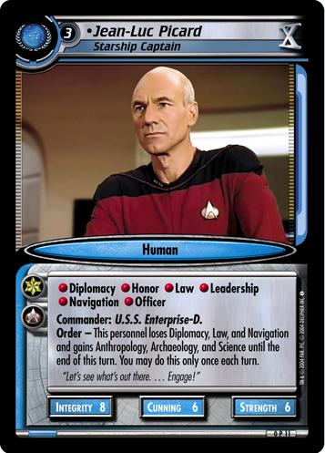 Jean-Luc Picard (Starship Captain)