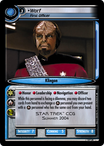 Worf (First Officer)