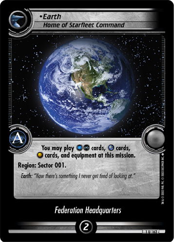 Earth (Home of Starfleet Command)