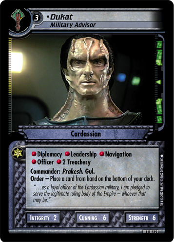 Dukat (Military Advisor)
