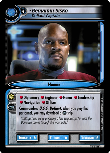 Benjamin Sisko (Defiant Captain)
