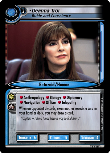 Deanna Troi (Guide and Conscience)