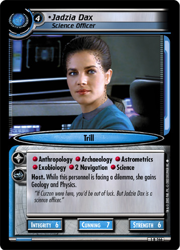 Jadzia Dax (Science Officer)