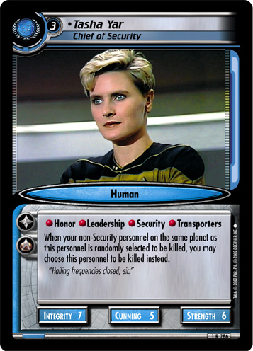 Tasha Yar (Chief of Security)