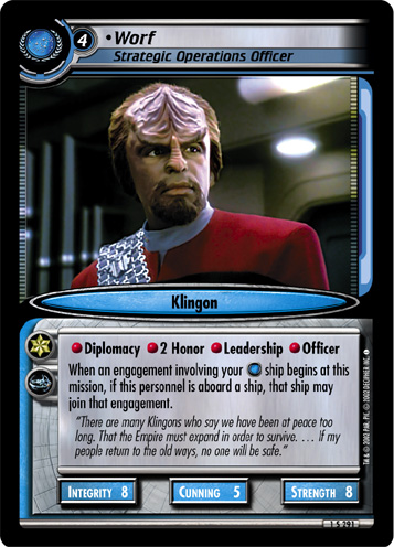 Worf (Strategic Operations Officer)