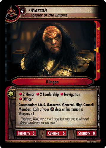 Martok (Soldier of the Empire)