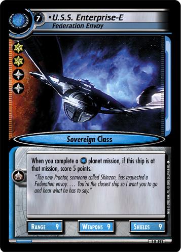 U.S.S. Enterprise-E (Federation Envoy)