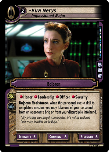Kira Nerys (Impassioned Major)