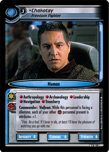 Chakotay (Freedom Fighter)
