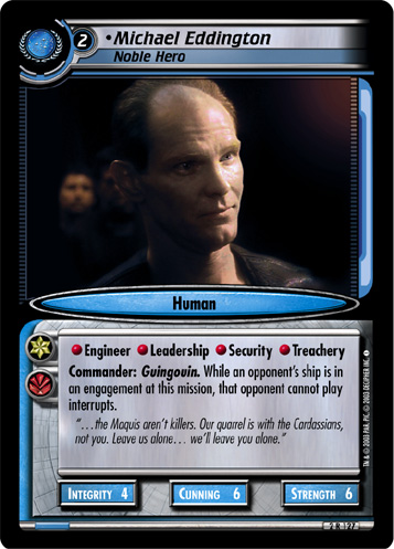 Michael Eddington (Noble Hero)