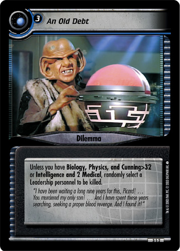 Transtator Drone Star Trek CCG These Are The Voyages RARE 12R48 Two of Nine