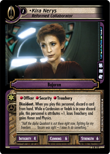 Kira Nerys (Reformed Collaborator)