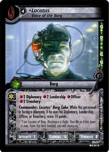 Locutus (Voice of the Borg)