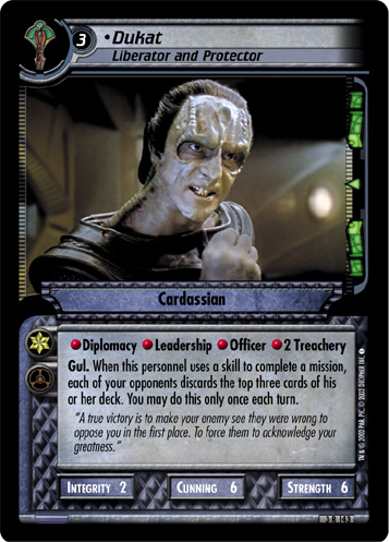 Dukat (Liberator and Protector)