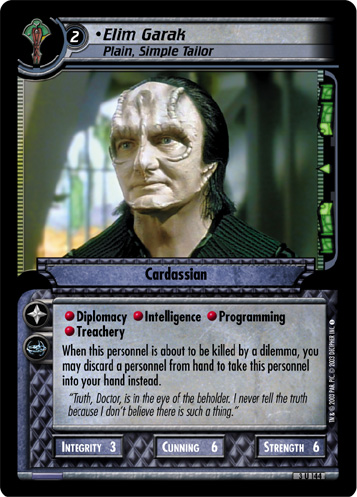 Elim Garak (Plain, Simple Tailor)