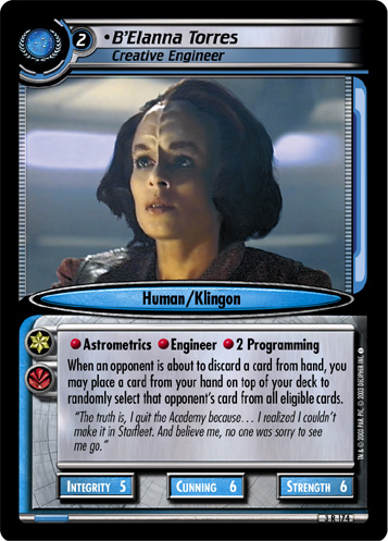 B'Elanna Torres (Creative Engineer)