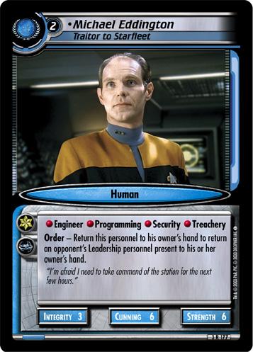 Michael Eddington (Traitor to Starfleet)