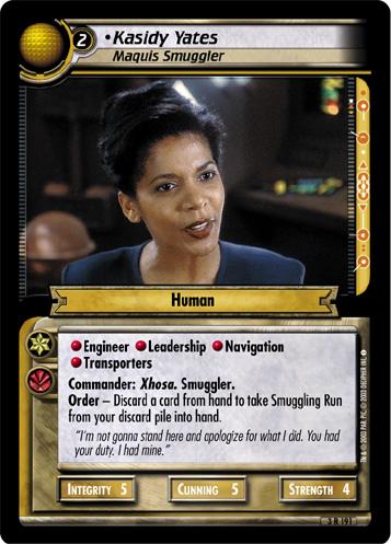 Kasidy Yates (Maquis Smuggler)