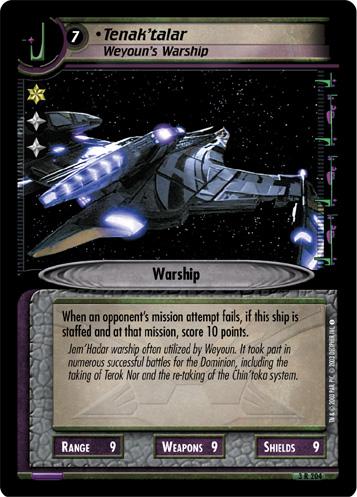 Tenak'talar (Weyoun's Warship)