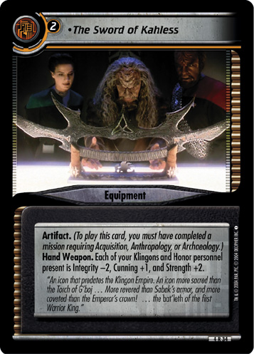 The Sword of Kahless